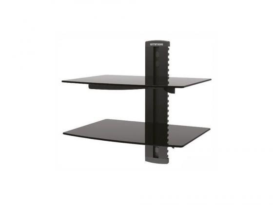 Кронштейн для DVD плееров ARM Media DVD-200 черный стекло максимальная нагрузка 10 кг джой dvd