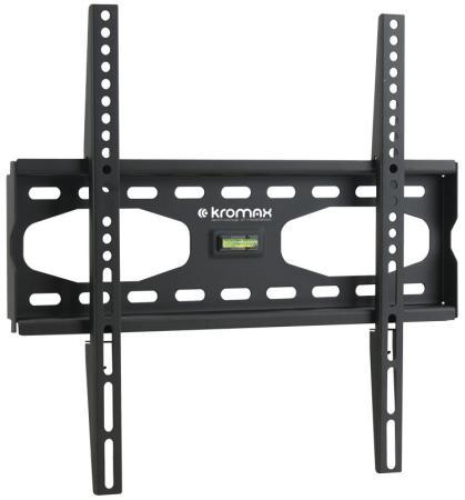 Кронштейн Kromax STAR-33 Серый 26-55 фиксированный 0 ст свободы от стены 33 мм VESA 400х400мм до 75кг ahd камера tantos tsc di960pahdf 3 6mm