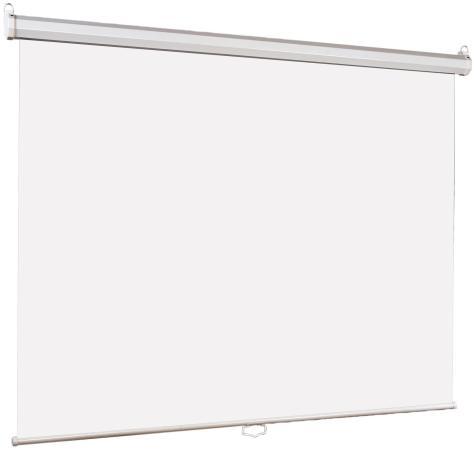 лучшая цена Экран настенный Lumien Eco Picture 200х200 см матовый белый восьмигранный корпус возм. потолочн-настенного крепления LEP-100103