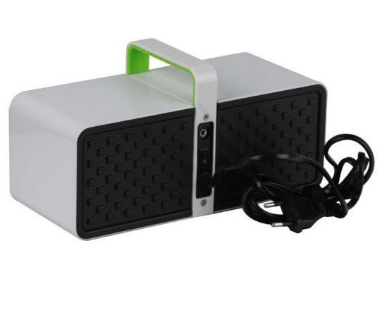 Портативная акустика Hercules WAE BT03-W белый 4780482 колонки hercules wae btp02 wb mobile 4780535