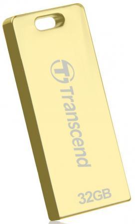 Флешка USB 32Gb Transcend Jetflash T3G TS32GJFT3G золотистый цена и фото
