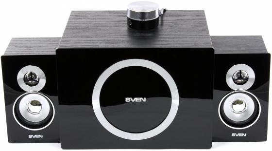 цена на Колонки Sven MS-1085 2х13 + 20 Вт черный