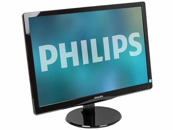 Монитор 22 Philips 220V4LSB/01 черный TFT-TN 1680x1050 250 cd/m^2 5 ms DVI VGA монитор 21 5 asus ve228tlb черный tft tn 1920x1080 250 cd m^2 5 ms dvi vga аудио usb