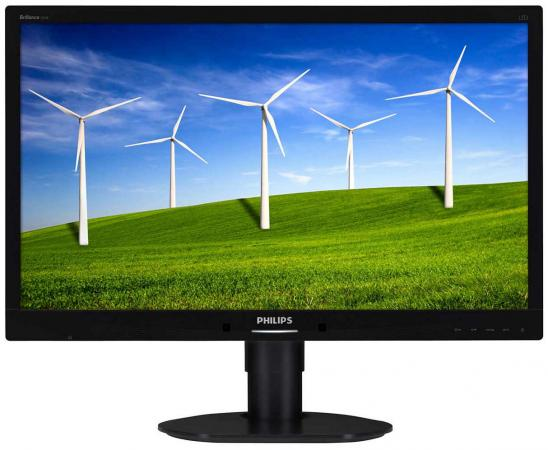 цена на Монитор 24 Philips 241B4LPYCB/00 черный TN 1920x1080 250 cd/m^2 5 ms VGA DVI DisplayPort
