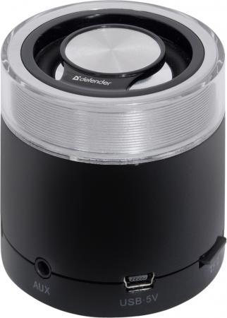 Портативная акустика DEFENDER ATOM Monodrive 5 Вт SD 65542 колонки defender soundway red 2 вт портативная