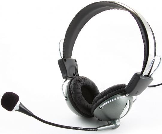 Гарнитура Gembird MHS-872 стерео темно-серый
