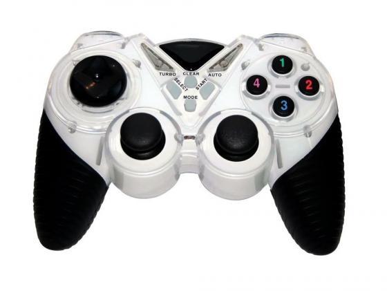 лучшая цена Геймпад 3Cott Single GP-05 черно-белый USB