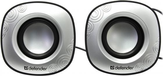 Колонки DEFENDER SPK-490 2x2 Вт USB 65490 колонки defender spk 530 2x2 вт usb белый 65531