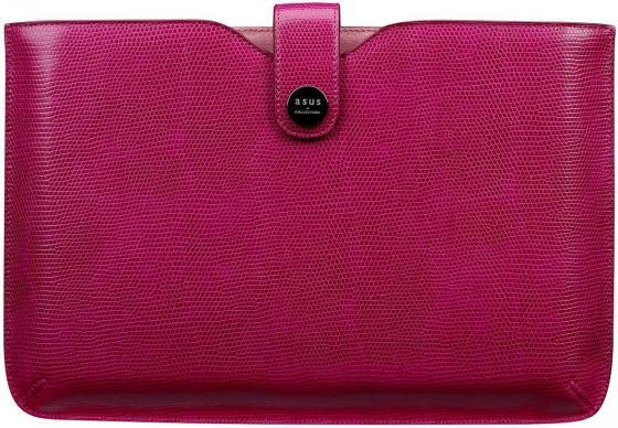 """все цены на Сумка для ноутбука 10"""" ASUS Index Sleeve искусственная кожа розовый XB0JOASL00020 онлайн"""