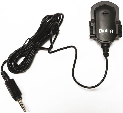 Микрофон Dialog М-100 черный микрофон dialog м 100
