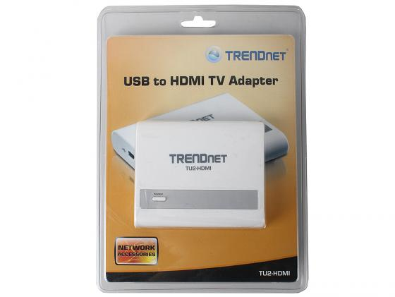 Переходник TRENDnet TU2-HDMI-HDMI USB to HDMI маршрутизатор trendnet tew 680mb