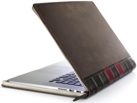 Чехол для ноутбука MacBook Pro 15 BookBook 12-1231 кожа черный кейс для macbook moshi iglaze pro 15 r 99mo071903