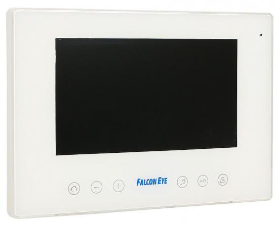 Видеодомофон Falcon Eye FE-77D цветной TFT LCD 7 на 2 вызывные панели/открытие замка/сенсорные кнопки/сменная панель в комплекте