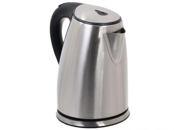 Чайник Kromax Endever KR-207S 2200 Вт 1.8 л металл серебристый чёрный endever kr 207s