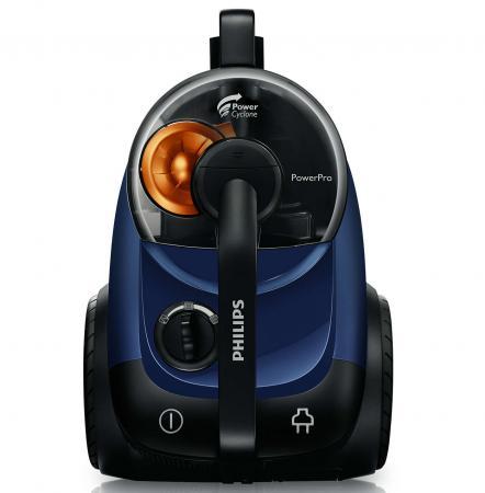Пылесос Philips FC8761/01 2000Вт 360Вт синий пылесос philips fc8761 2000вт синий