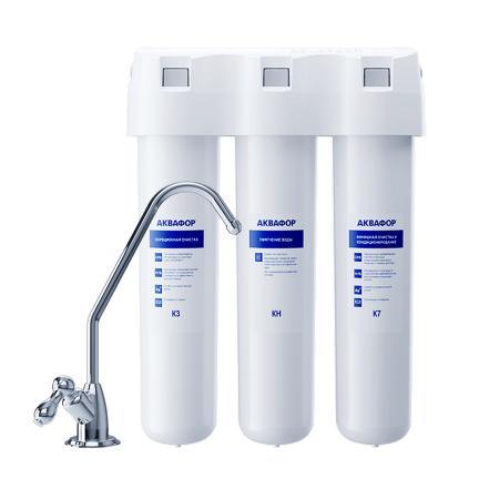Купить со скидкой Фильтр для воды Аквафор Кристалл Н исполнение 2