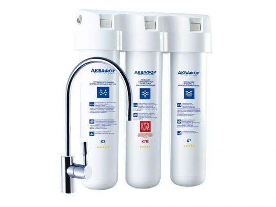 Фильтр для воды Аквафор Кристалл Эко исполнение 3 К3-K7B-K7
