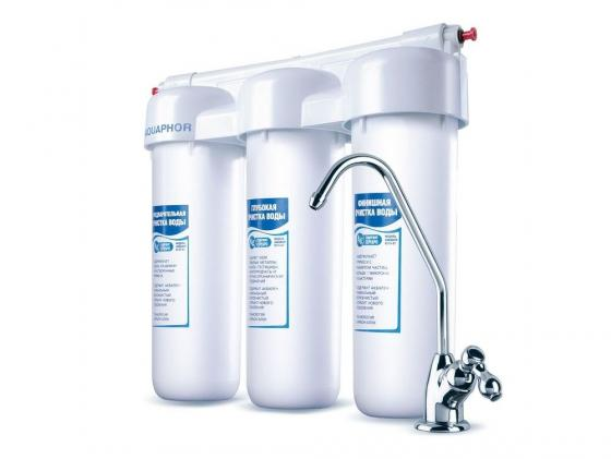 Фильтр для воды Аквафор Трио Норма для жесткой воды стационарная система аквафор трио норма м в