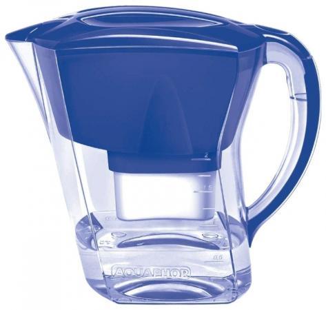 Фильтр для воды Аквафор АГАТ кувшин синий + 1 доп.модуль фильтр кувшин аквафор атлант тёмно зелёный