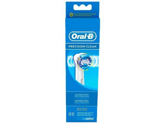 Насадка для зубной щётки Braun Oral-B PrecClean EB 20-3+1 недорого