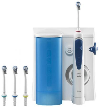 Зубная щётка Braun Oral-B Professional Care OxyJet MD18-MD20 waterpulse professional oral care teeth cleaner irrigator electric oral irrigator dental flosser