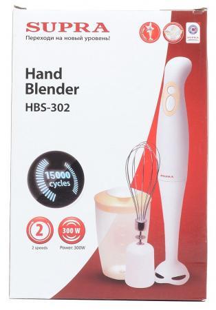 Блендер погружной Supra HBS-302 —Вт белый блендер supra hbs 302 hbs 302