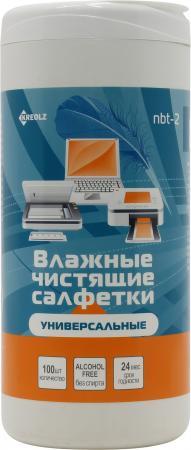 Чистящие салфетки Kreolz NBT-2 100 шт салфетки duni салфетки duni комплект 2 шт