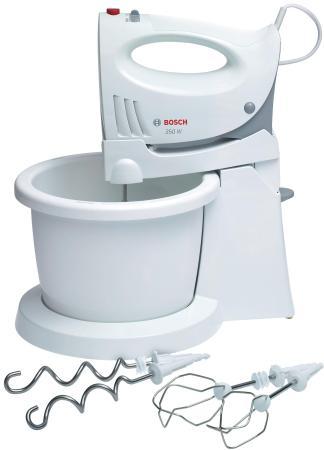 цены  Миксер стационарный Bosch MFQ 3555 350 Вт белый
