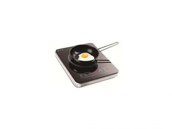 Индукционная электроплитка KITFORT КТ-102 чёрный электроплитка supra hs 201 чёрный