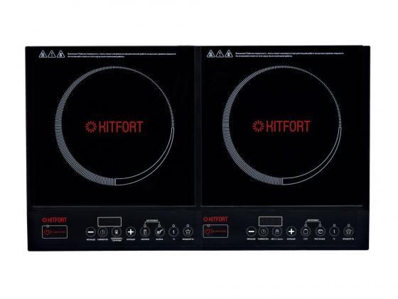 ЭлеKTроплитка KITFORT KT-104 индукционная настольная плита kitfort kt 101 индукционная