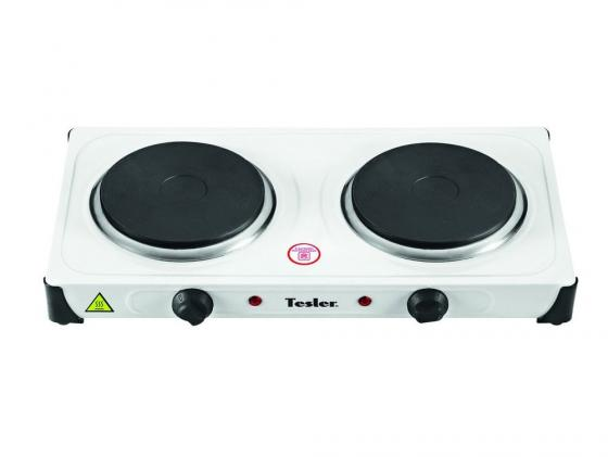 Электроплитка TESLER PE-20 белый tesler pe 15 white плитка электрическая