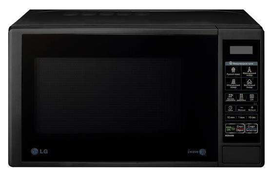 Микроволновая печь LG MS-2042DB 700 Вт чёрный цена в Москве и Питере