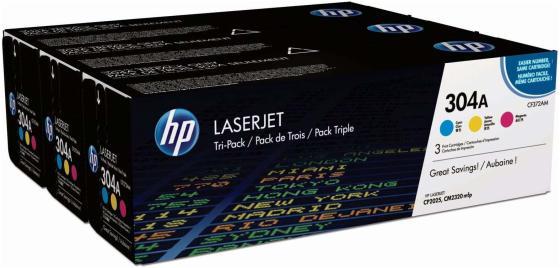 Картридж HP CF372AM для HP Color LaserJet 2025 CM2320 голубой пурпурный желтый transfer kit unit for hp 2025 cp2025 2320 cm2320 cm2320nfi 2320nf 2320nfi hp2320 hp2025 rm1 4852 transfer belt assembly