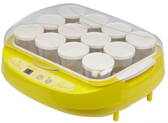 Йогуртница Brand 4002 жёлтый cristaline пакеты защитные пакеты 100 шт