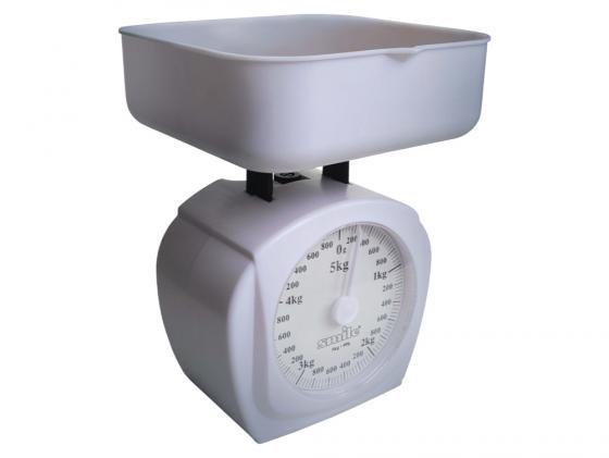Весы кухонные SMILE KS 3207 механические белый точило smile ks 806