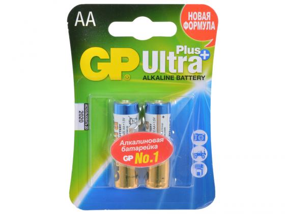 Батарейки GP Ultra Plus Alkaline 15AUP AA 2 шт цена и фото