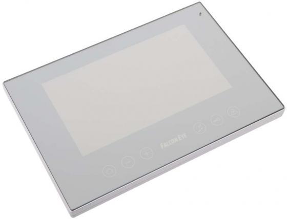 Видеодомофон Falcon Eye FE-78Z цветной TFT LCD 7 зеркальная поверхность на 2 вызывные панели открытие замка сенсорные кнопки