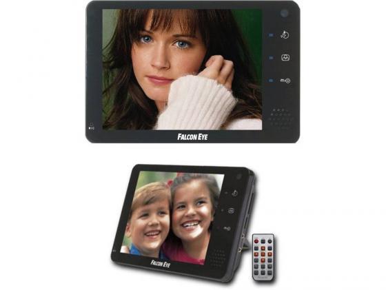 Видеодомофон Falcon Eye FE-74R цветной TFT LCD 7 на 2 вызывные панели и 2 камеры встроенный регистратор на карту SD/открытие замка