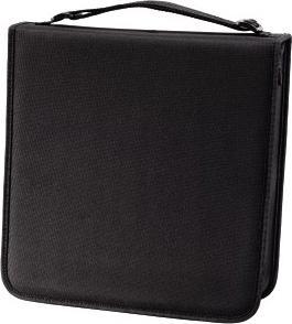 Портмоне HAMA для 192 CD/DVD серия NYLON черный H-12046 цена и фото