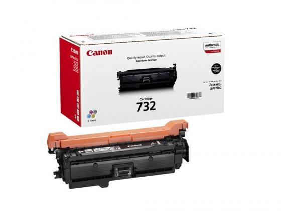 Картридж Canon 732Bk для LBP7780Cx черный 1400стр