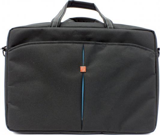 Сумка для ноутбука 17 Continent CC-017 синтетика черный continent сс 017