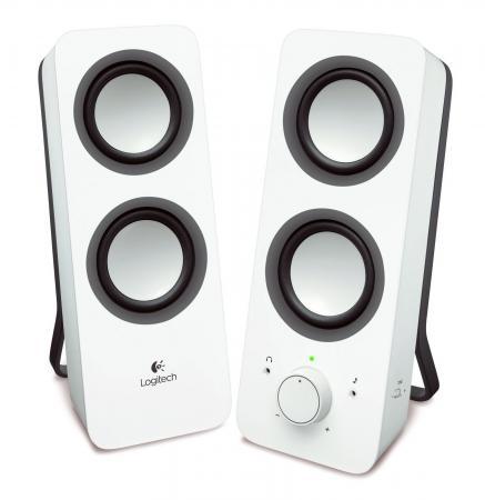 Колонки Logitech Z200 2x5 Вт белый 980-000811