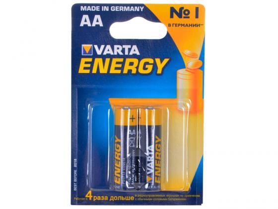Батарейки Varta Energy AA 2 шт 4106213412 батарейки varta energy 2 шт aa 4106213412