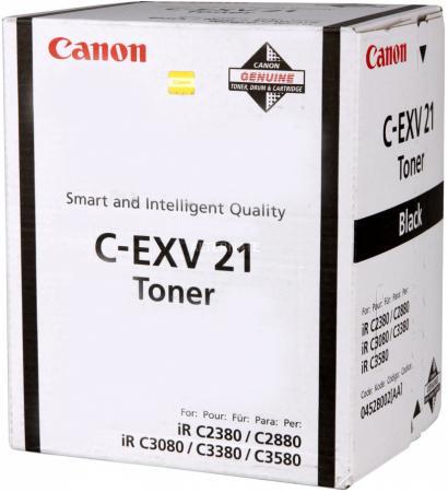 Тонер Canon C-EXV21 для iRC2880/2880i/33803380i черный 26000 страниц