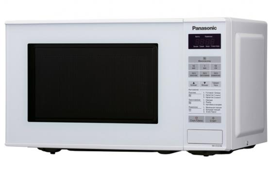 Фото - Микроволновая печь Panasonic NN-ST251WZPE 800 Вт белый стикеры для стен zooyoo1208 zypa 1208 nn