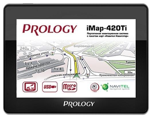 Навигатор Prology iMap-560TR 5 480x272 Навител microSD черный портативный gps навигатор neoline moto 2 по навител