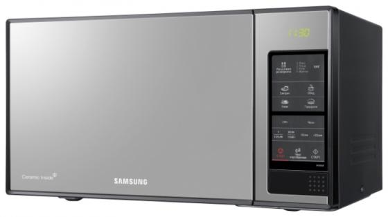 Микроволновая печь Samsung ME-83XR/BWT 850 Вт чёрный серебристый samsung c 61 r2aee bwt