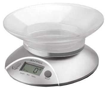Весы кухонные Maxwell MW-1451(SR) электронные серебристый весы багажные maxwell mw 1462 sr электронные серебристый