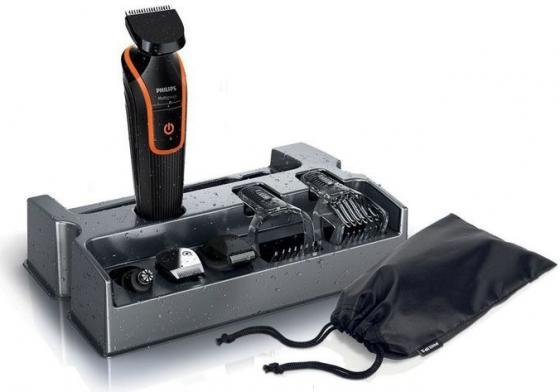 Машинка для стрижки волос Philips QG3340/16 чёрный машинка для стрижки волос magnit rmz 3380