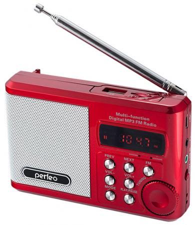 Портативная акустика Perfeo Sound Ranger 2 Вт FM MP3 USB microSD BL-5C 1000mAh красный PF-SV922 портативная акустика perfeo sound ranger 2 вт fm mp3 usb microsd bl 5c 1000mah черный pf sv922bk